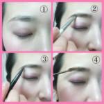 眉毛イメージに合わせて変える方法